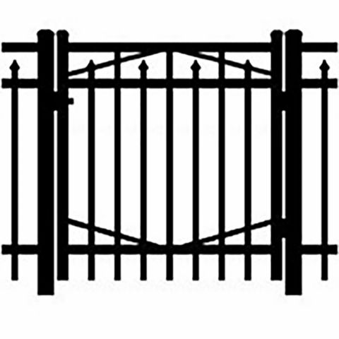 Jerith Industrial #I200 Aluminum Single Swing Gate