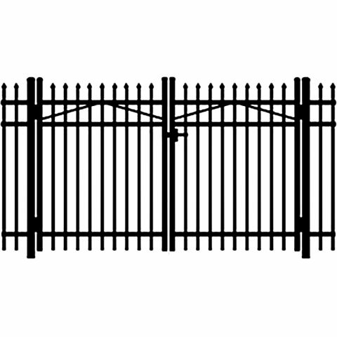 Jerith Legacy #101 Aluminum Double Swing Gate