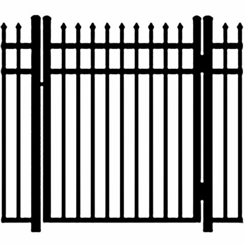 Ideal Maine #203M Aluminum Single Swing Gate - Modified