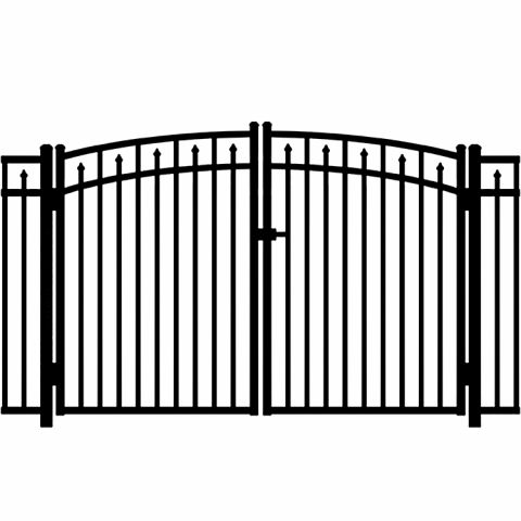 Jerith Legacy #200 Modified Aluminum Rainbow Double Gate
