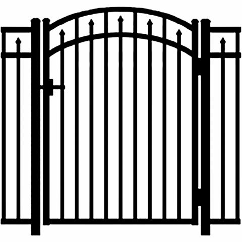 Jerith Legacy #200 Modified Aluminum Accent Gate