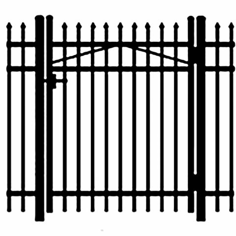 Jerith Legacy #101 Aluminum Single Swing Gate