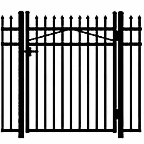 Jerith Legacy #101 Modified Aluminum Single Swing Gate