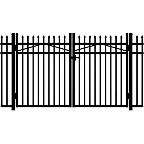 Jerith Legacy #101 Modified Aluminum Double Swing Gate