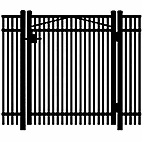 Jerith Legacy #402 Aluminum Single Swing Gate