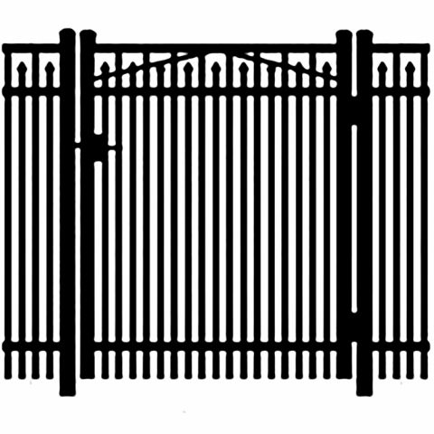 Jerith Legacy #400 Aluminum Single Swing Gate