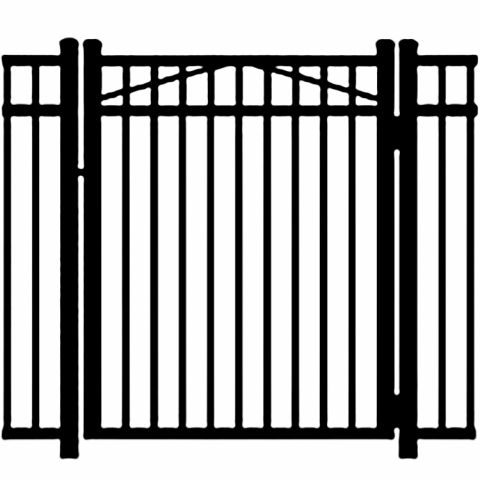 Jerith Legacy #202 Modified Aluminum Single Swing Gate