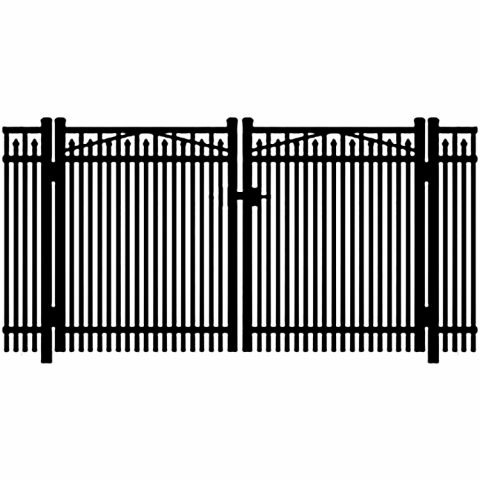 Jerith Legacy #400 Aluminum Double Swing Gate