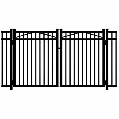 Jerith Legacy #202 Modified Aluminum Double Swing Gate