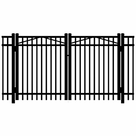 Jerith Legacy #202 Aluminum Double Swing Gate