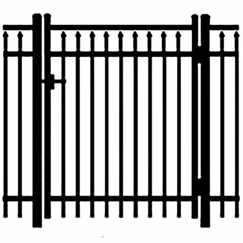 Jerith Legacy #200 Aluminum Single Swing Gate