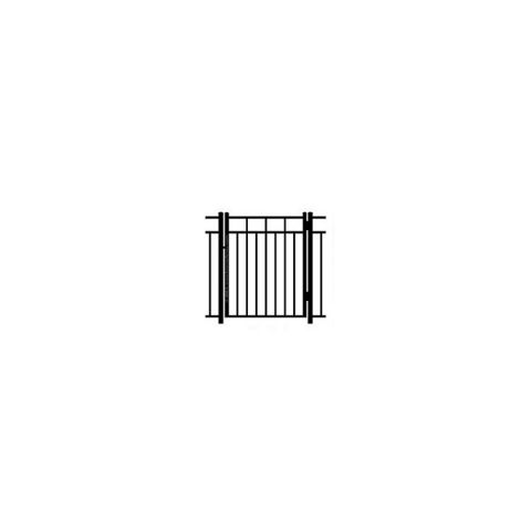 Ideal Carolina #403M Aluminum Single Swing Gate - Modified
