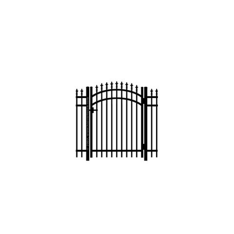 Jerith #111 w/Finials Aluminum Accent Gate