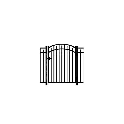 Jerith #200M Aluminum Accent Gate - Modified
