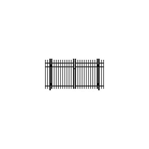 Ideal Maine #203 Aluminum Double Swing Gate - Standard