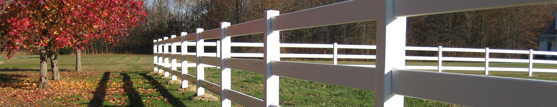 Vinyl Post and Rail Fencing